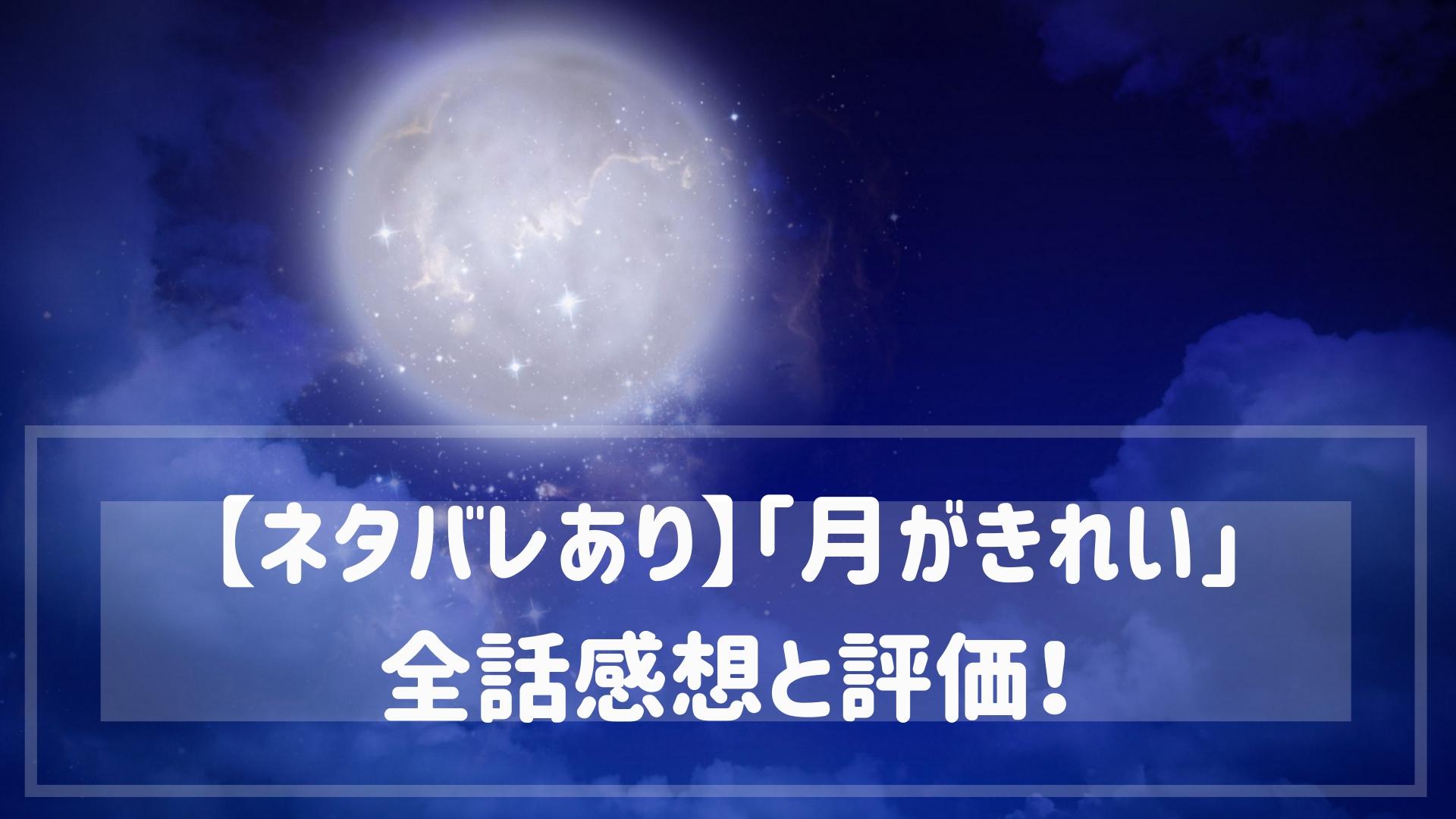 「月がきれい」感想と評価!青春不足の大人は心がエグられる名アニメ!
