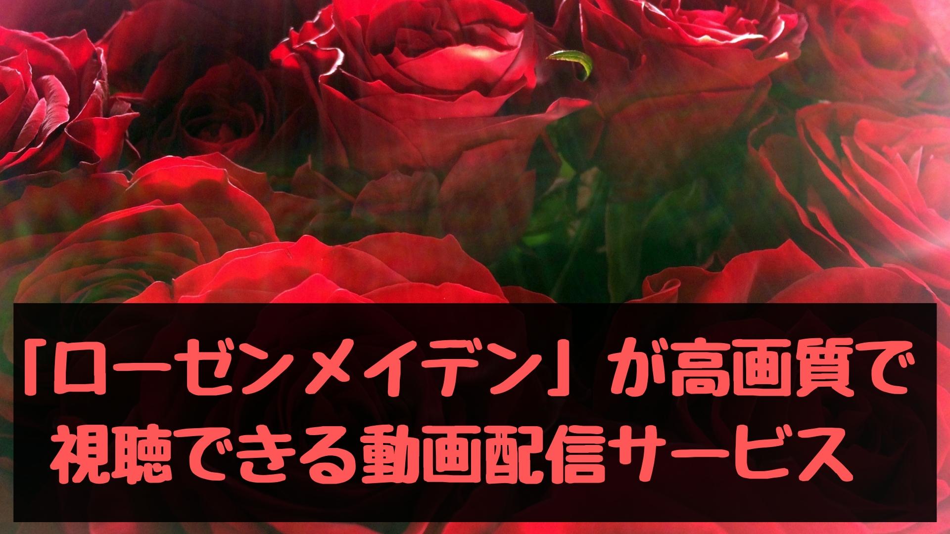「ローゼンメイデン」の動画を全話高画質で視聴できる動画配信サービスまとめ!