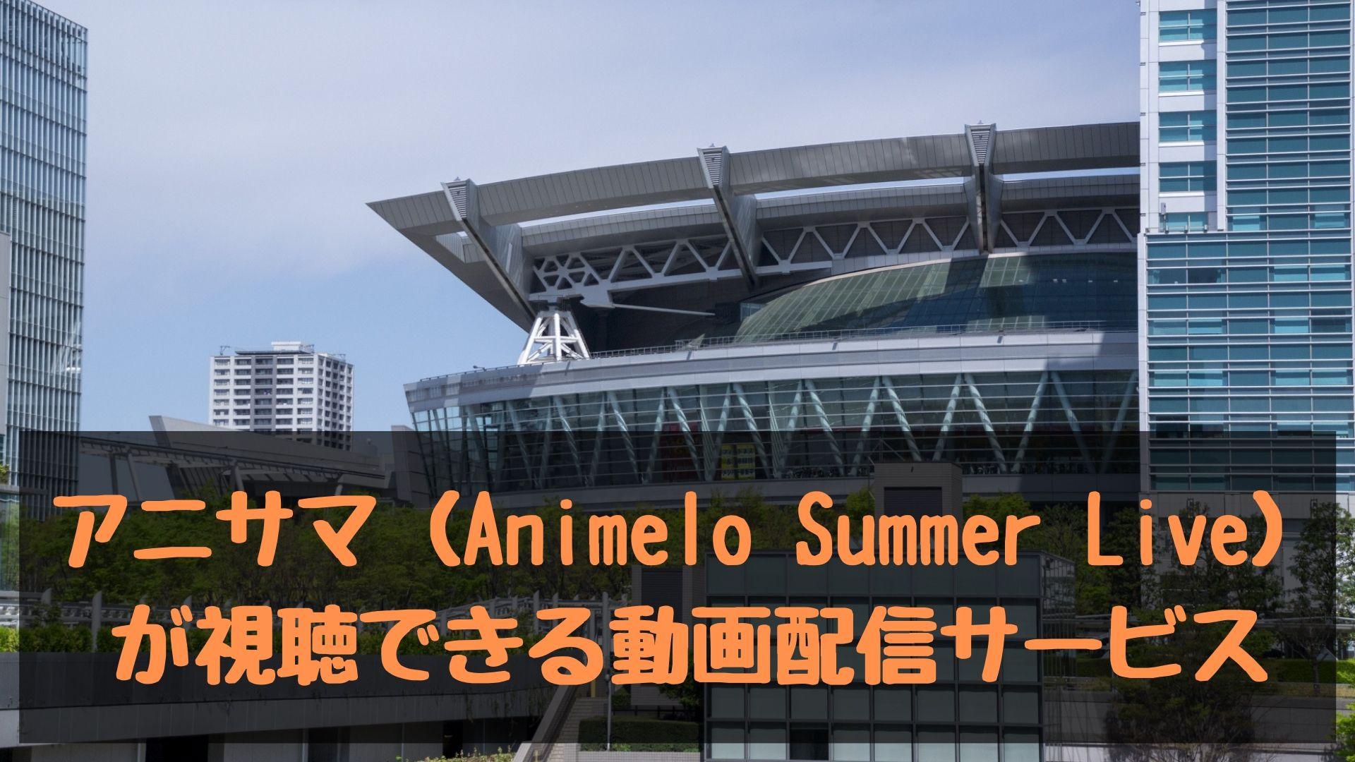 アニサマの動画!歴代「Animelo Summer Live」が視聴できる動画配信サービス