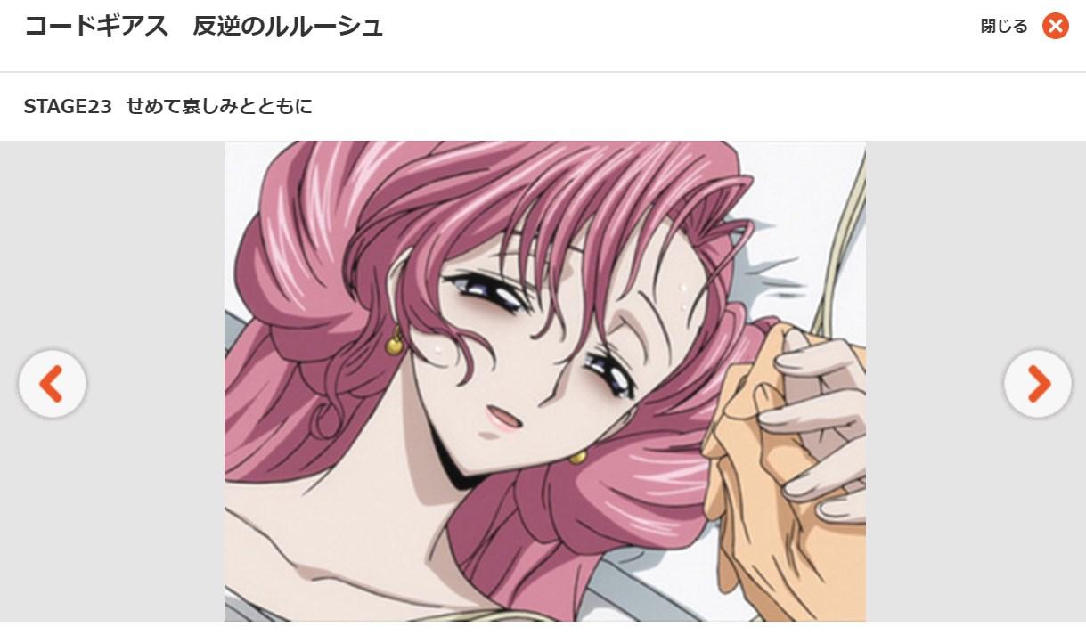 コードギアス 反逆のルルーシュ1期 第23話の無料動画dアニメストア